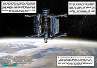 3D Comic: Habitat 5. Episode 1.