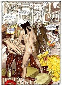 Erotic Comic Art 9 - The Troubles of Janice (3) c. 1997