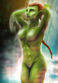 Sexy Orc females