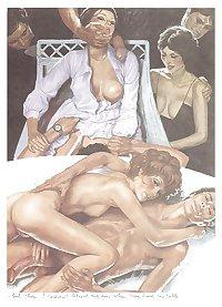 Erotic Art by Erich Von Gotha