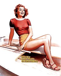 Vintage Pinup Girls New & Old Erotica By twistedworlds