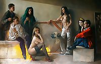 Painted EroPorn Art 144 -  Dario Ortiz Robledo
