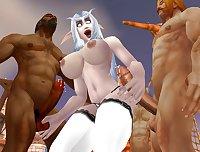 Warcraft night elf 2