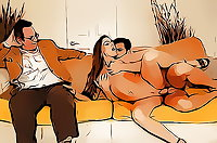 Cuckold color cartoons